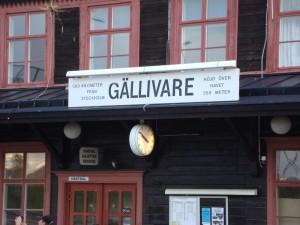 Gällivare - 1313 km von Stockholm, 359 Meter über dem Meer